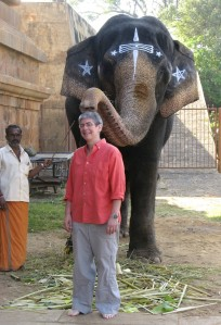 A-Boy-And-Her-Elephant-A-Butch-In-India