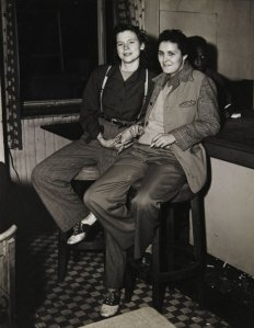 Weegee. Lesbians in NYC in 1946.