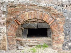 Oven at Pompeii, circa 79 AD.
