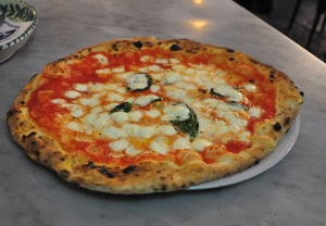 Verace Pizza Napoletana at Sorbillo in Naples.