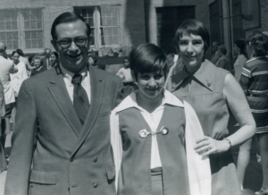 My 6th grade graduation in 1970. I might have been happier in a jacket and tie, but pointy collars were in style.