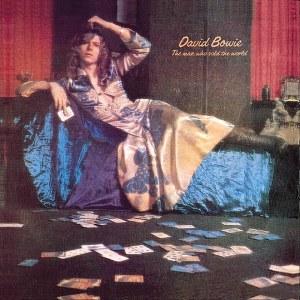 David Bowie in a man's dress, 1971