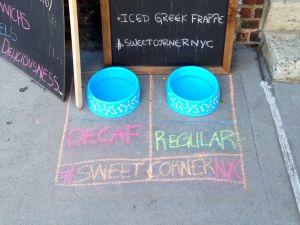Sweet Corner Bakery on Hudson Street