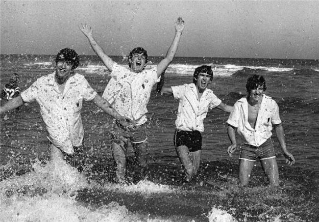 The Beatles in Miami, 1964. Photo by Charles Trainor.