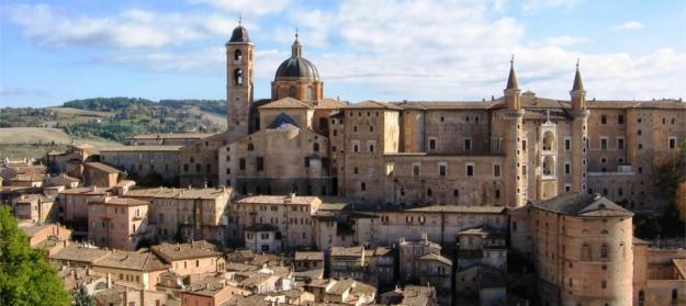 Urbino, on a sunny day.